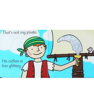 That's Not My Pirate (Usborne Touchy-Feely Books) Inside Page 2