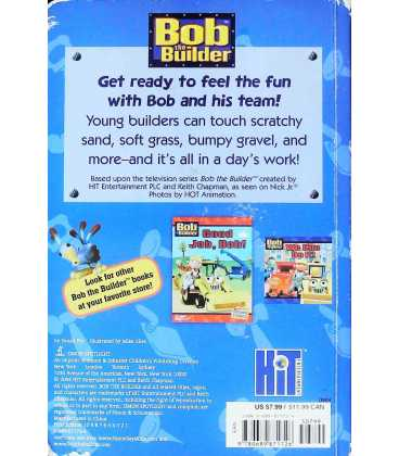 Can You Feel It? (Bob the Builder) Back Cover