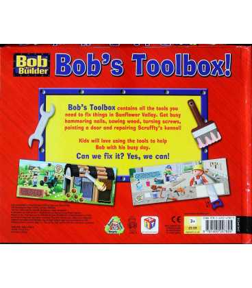 Bob's Toolbox! Back Cover