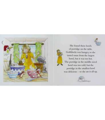 Goldilocks (Fairytale Jigsaw Books) Inside Page 1