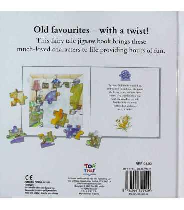 Goldilocks (Fairytale Jigsaw Books) Back Cover
