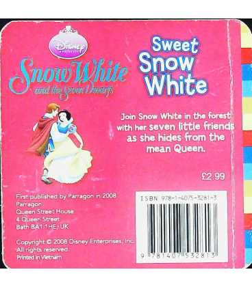 Sweet Snow White Back Cover