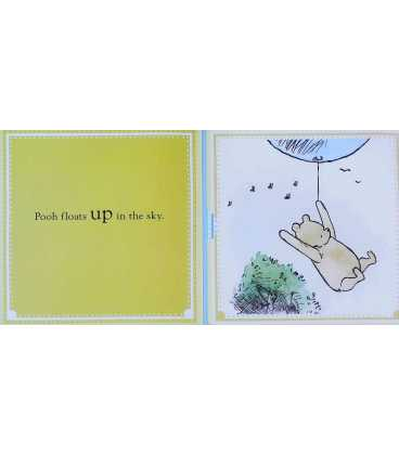 Winnie the Pooh Opposites: Lift the Flap book Inside Page 2