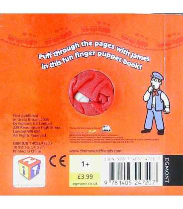 Puff, Puff, James! Back Cover