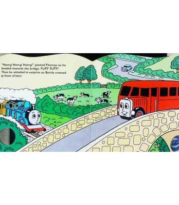Thomas' Big Race: Sound Book (Thomas the Tank Engine) Inside Page 1