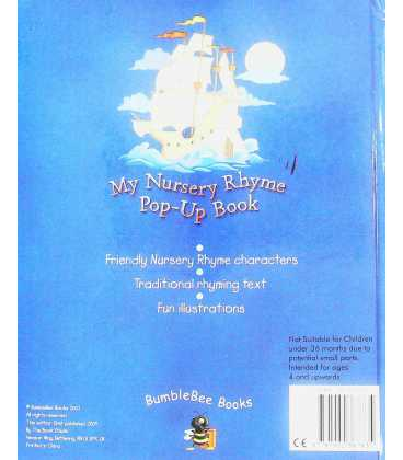 My Nursery Rhymes Pop-Up Book Back Cover