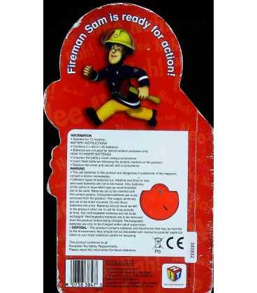 Fireman Sam on Call Back Cover