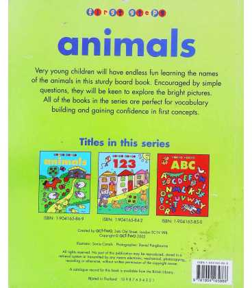 Animals Back Cover