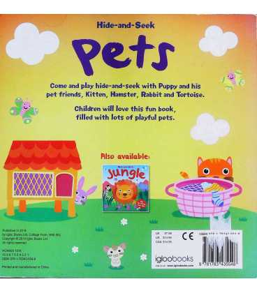 Pets Back Cover