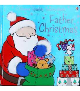 Usborne Sparkly Touchy-Feely: Father Christmas