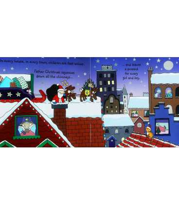 Usborne Sparkly Touchy-Feely: Father Christmas Inside Page 2