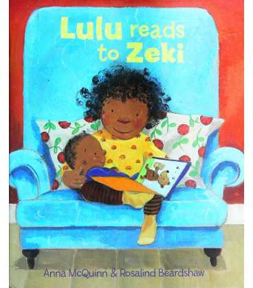 Lulu Reads to Zaki