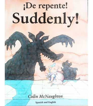 Suddenly! (Spanish and English)