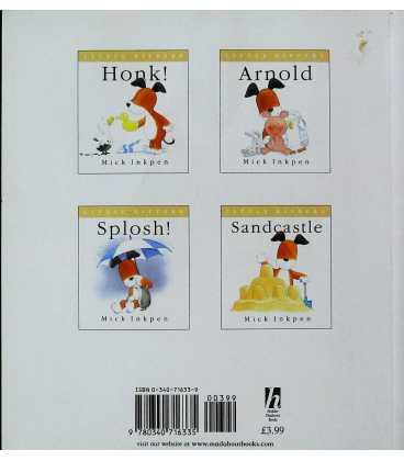 Splosh (Little Kippers) Back Cover
