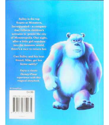 Monsters Inc Back Cover