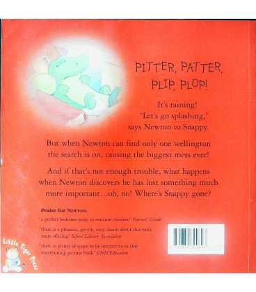 Newton and the Big Mess Back Cover