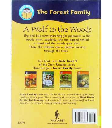 A Wolf in the Woods Back Cover