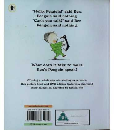 Penguin Back Cover