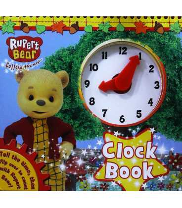 Rupert Bear Clock Book