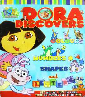 Dora Discovers Colours, Numbers, Shapes and Letters
