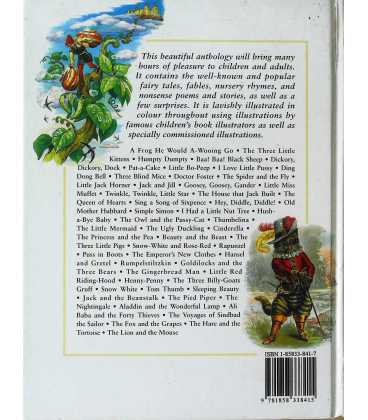 The Random House Children's Treasury Back Cover