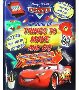 Cars Big Book of Things to Make and Do