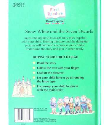 Snow White and the Seven Dwarves Back Cover