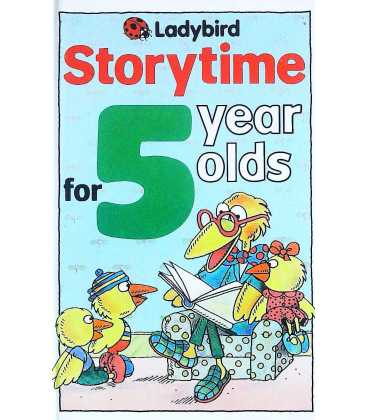 Storytime For 5 Year Olds
