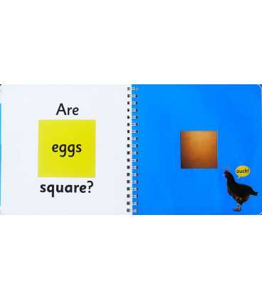 Are Eggs Square? (My First) Inside Page 1