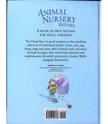 Animal Nursery Rhymes Back Cover