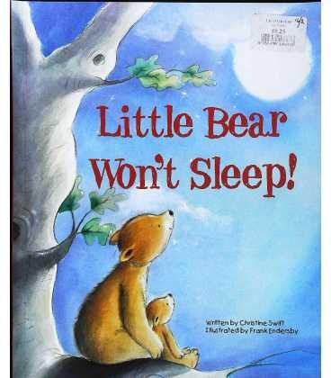 Little Bear Won't Sleep