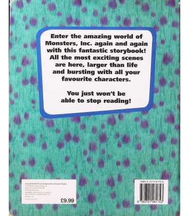 Monsters, Inc. Back Cover