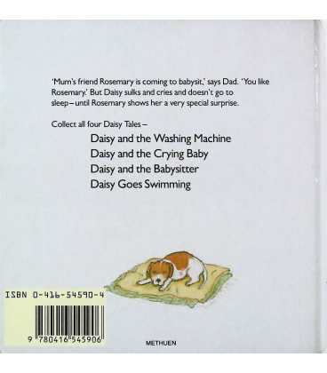 Daisy and the Babysitter (Daisy Tales) Back Cover