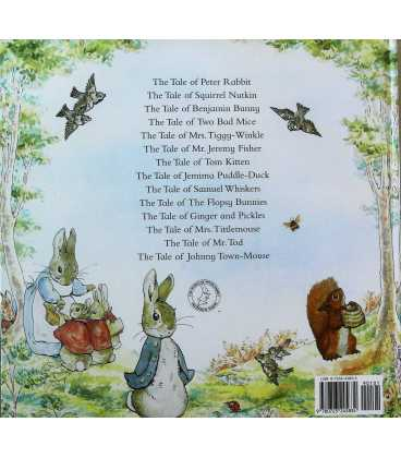 Peter Rabbit's Giant Storybook Back Cover