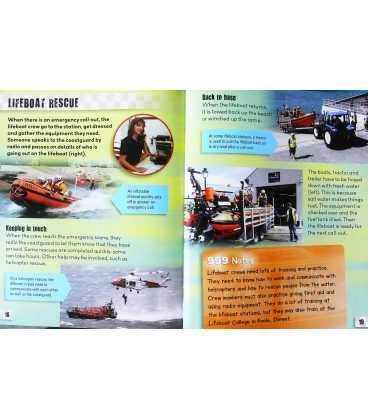 Sea Rescue Services (Emergency 999) Inside Page 1