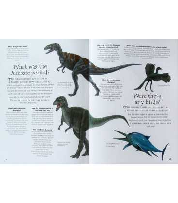 Dinosaur Question And Answer Book Inside Page 1