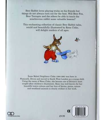 My Big Book of Brer Rabbit Back Cover