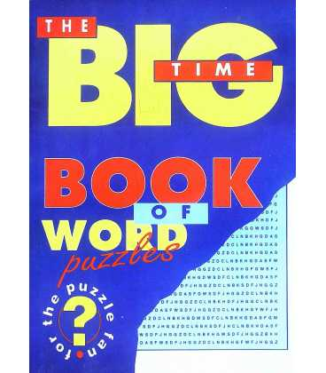 Big Time Book of Word Games