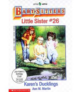 Karen's Ducklings (Baby-Sitters Little Sister No. 26)