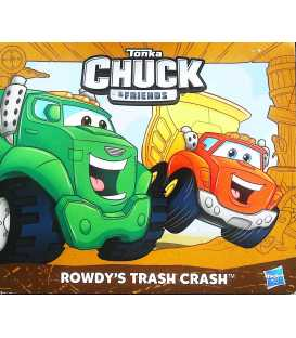 Tonka Chuck & Friends - Rowdy's Trash Crash