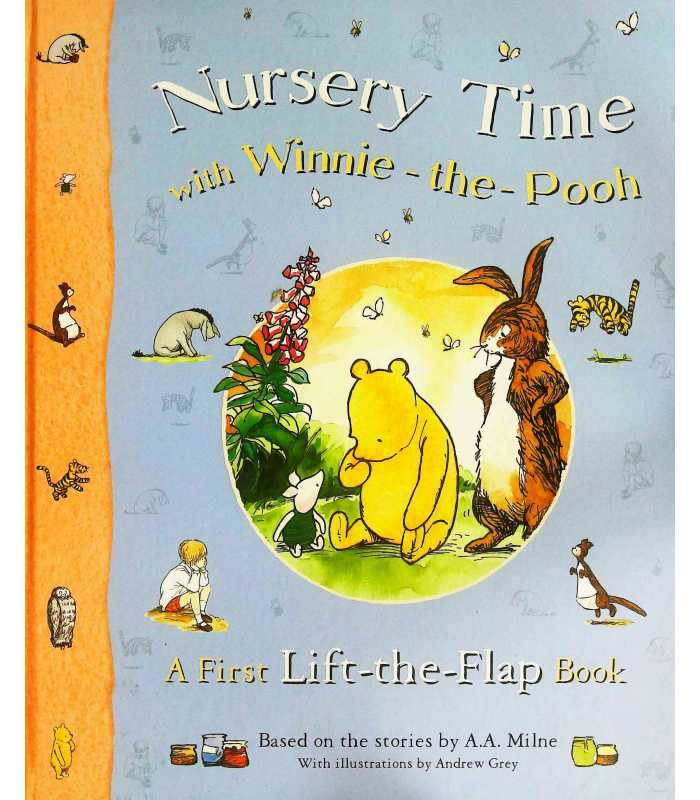 Nursery Time with Winnie-the-Pooh (A First Lift-the-Flap