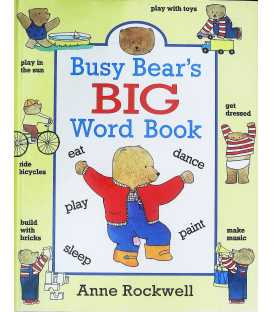 Busy Bear's Big Word Book