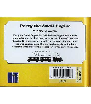 Percy the Small Engine Back Cover