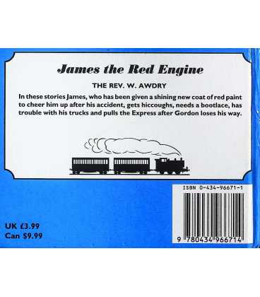 James the Red Engine Back Cover