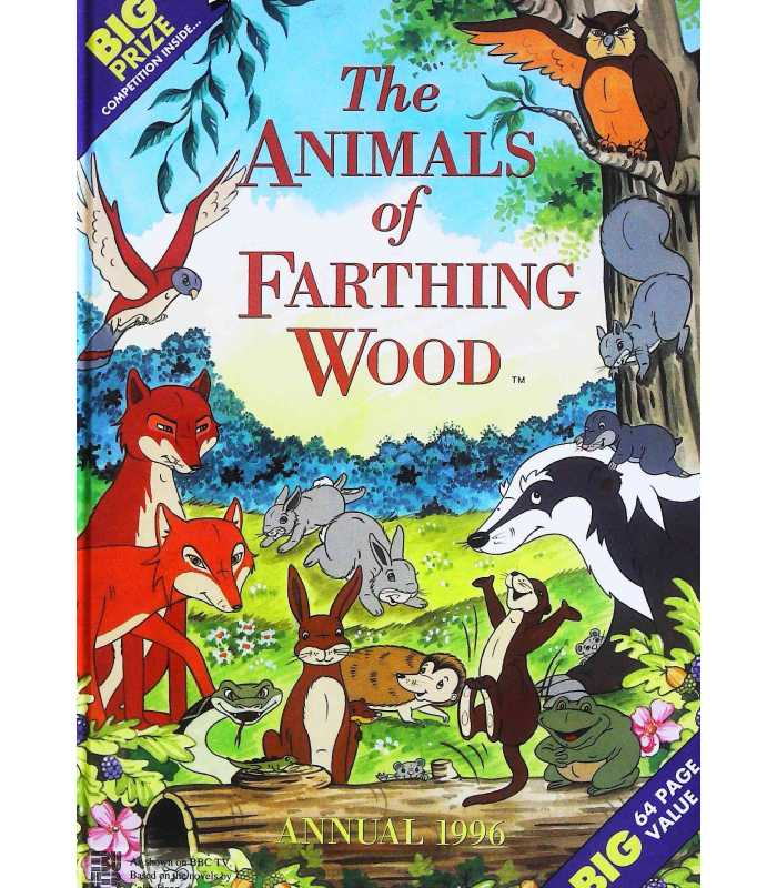 Animals Of Farthing Wood Annual 1996