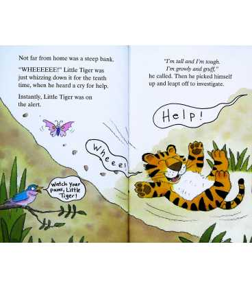 Bold Little Tiger (Little Stories) Inside Page 2