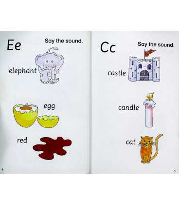 Rocket to the Jungle (Say the Sounds Phonics Reading Scheme : Book 1) Inside Page 1