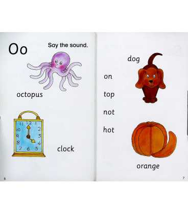 Rocket to the Jungle (Say the Sounds Phonics Reading Scheme : Book 1) Inside Page 2