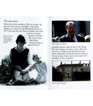 Diana Princess of Wales Inside Page 2