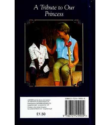 Diana Princess of Wales Back Cover
